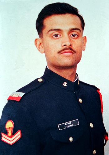 Capt. Vijyant Thapar VrC  2 RajRif