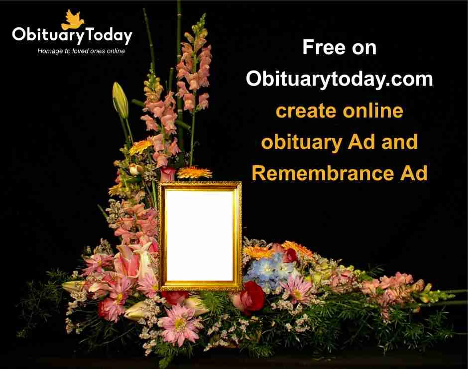 CREATE ONLINE OBITUARY THAT ENABLES YOU TO LEAVE THE WORDS OF SUPPORT
